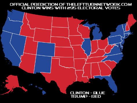 Official Prediction for the 2016 Presidential Election Electoral ...